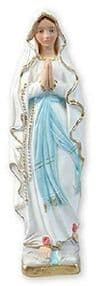 Our Lady of Lourdes Statue Ornament Religious Sculpture Catholic Gift